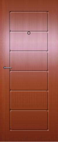 Панель из натурального шпона 30 предназначена для установки в стальные двери