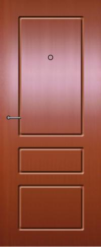 Панель из натурального шпона 31 предназначена для установки в стальные двери