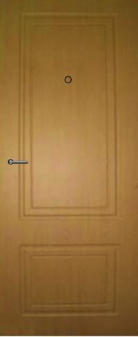 Панель из натурального шпона 32 предназначена для установки в стальные двери
