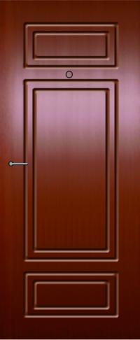 Панель из натурального шпона 35 предназначена для установки в стальные двери