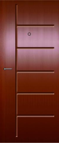 Панель из натурального шпона 51 предназначена для установки в стальные двери