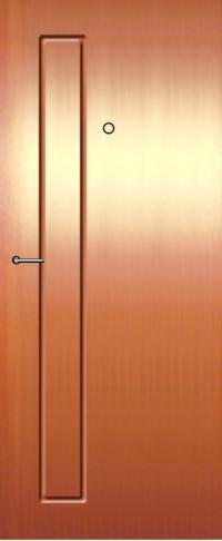 Панель из натурального шпона Квартал предназначена для установки в стальные двери