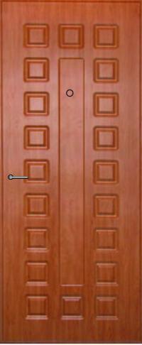 Панель из натурального шпона Экстра предназначена для установки в стальные двери