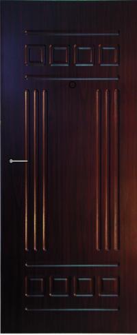 Панель из натурального шпона Эллада предназначена для установки в стальные двери