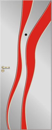 Панель многоцветная ламинированная 04 предназначена для установки в входные металлические двери