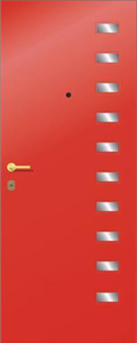 Панель многоцветная ламинированная 50 предназначена для установки в входные металлические двери