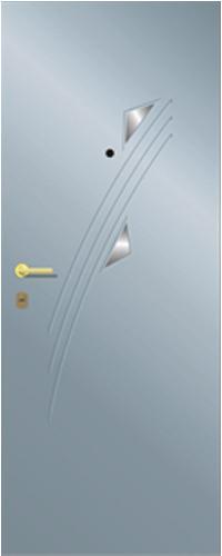 Панель многоцветная ламинированная 56 предназначена для установки в входные металлические двери