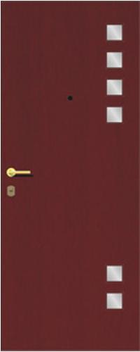 Панель многоцветная ламинированная 58 предназначена для установки в входные металлические двери