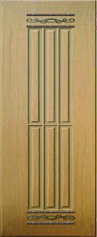 Панель с кованными элементами 02 предназначена для установки в двери металлические