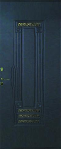 Панель с кованными элементами Италия 01  предназначена для установки в двери металлические