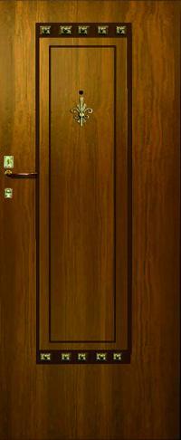 Панель с кованными элементами Легенда 04 предназначена для установки в двери металлические