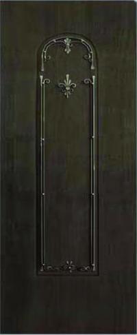 Панель с кованными элементами Легенда 05 предназначена для установки в двери металлические