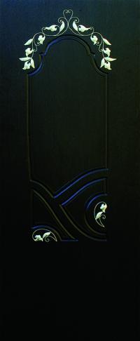 Панель с кованными элементами Флоренция  предназначена для установки в двери металлические