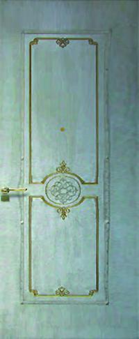 Панель с кованными элементами Фортуна-Цезарь предназначена для установки в двери металлические