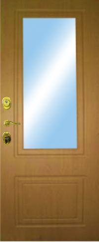 Панель с зеркалом 32 предназначена для установки в железные двери