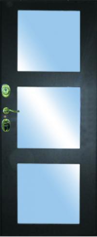 Панель с зеркалом Верона предназначена для установки в железные двери