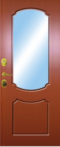 Панель с зеркалом Мария предназначена для установки в железные двери