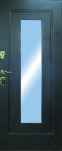 Панель с зеркалом Нарцисс 02 предназначена для установки в железные двери