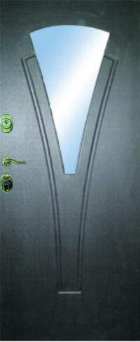 Панель с зеркалом Нарцисс 03 предназначена для установки в железные двери