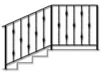 перила кованые-5