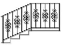 перила кованые-12