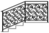 перила кованые-22