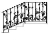 перила кованые-23