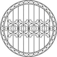 кованые решетки-1