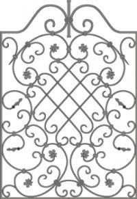 кованые решетки-3