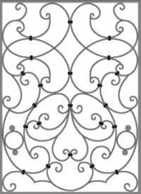 кованые решетки-6