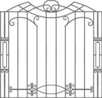 кованые решетки-8