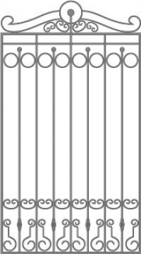 кованые решетки-11