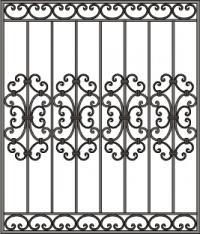 кованые решетки-13