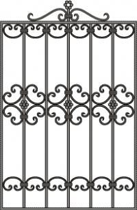 кованые решетки-15
