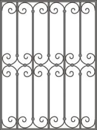 кованые решетки-16