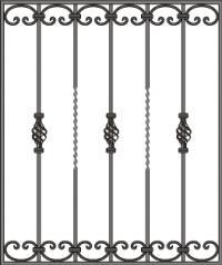 кованые решетки-17