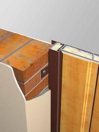 Рекомендуется для проемов с толщиной стен без штукатурки от 160 мм. Крепление на ушах.