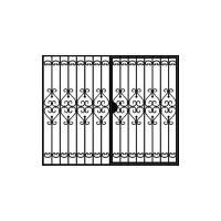 кованые ворота-1