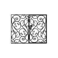 кованые ворота-4