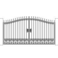 кованые ворота-6