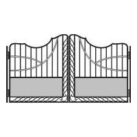 кованые ворота-8