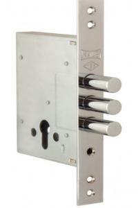 Замок Кале-257 предназначен для установки в входные металлические двери
