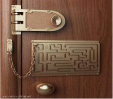 Будет ли безопасней за железной дверью?