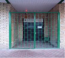Дверь решетка