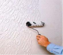 Фактурная краска - пусть дом будет красивым