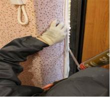 Как избавиться от зазоров входной двери