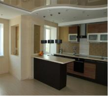 Кухня-студия - стильно и современно