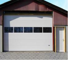 Секционные двери гаражные