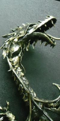 Декоративный элемент Дракон